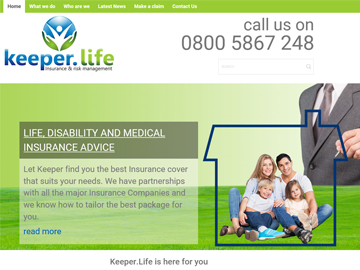 Keeper Life - Insurance
