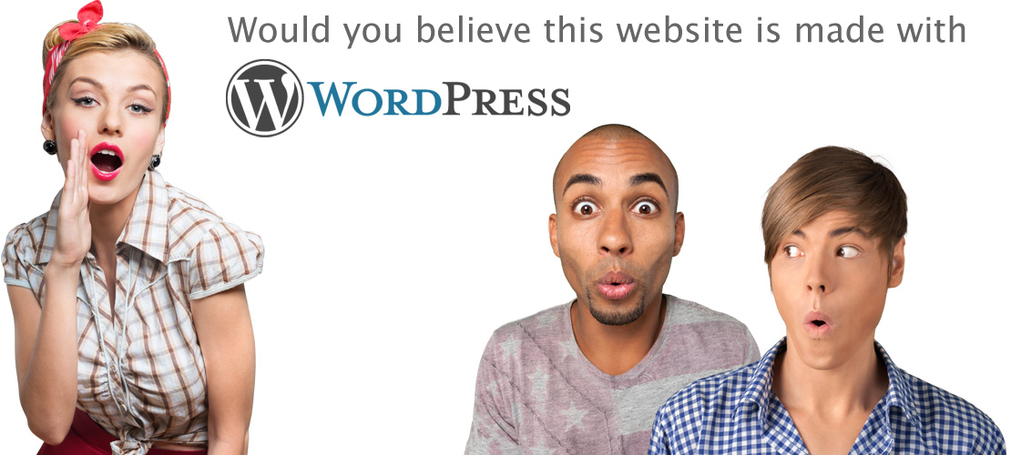 The Ironing Board proudly uses WordPress